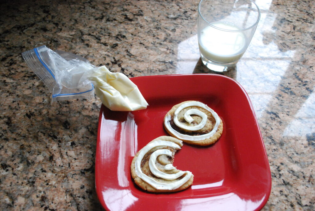 cinnamon roll cookie recipe