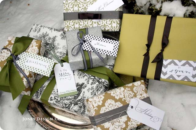 Gift Tags from Jones Design Co.