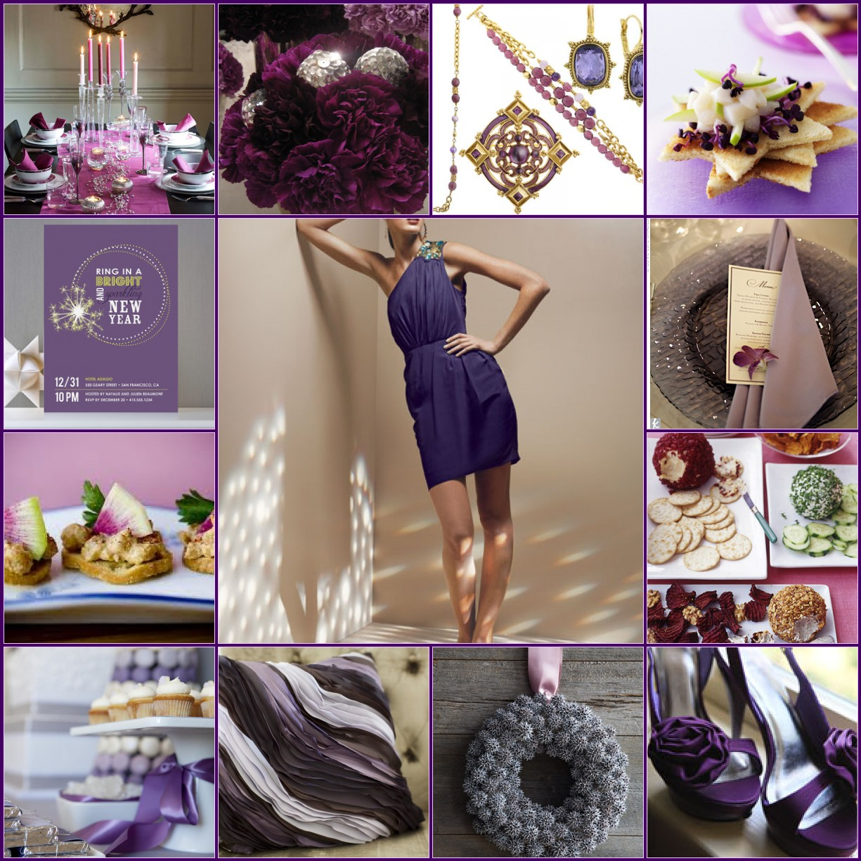 Purple Inspirtation Board