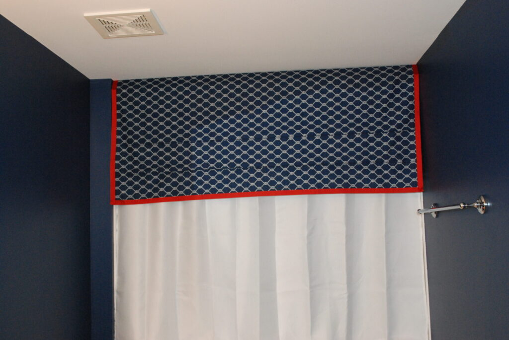 Nautical Bathtub Valance