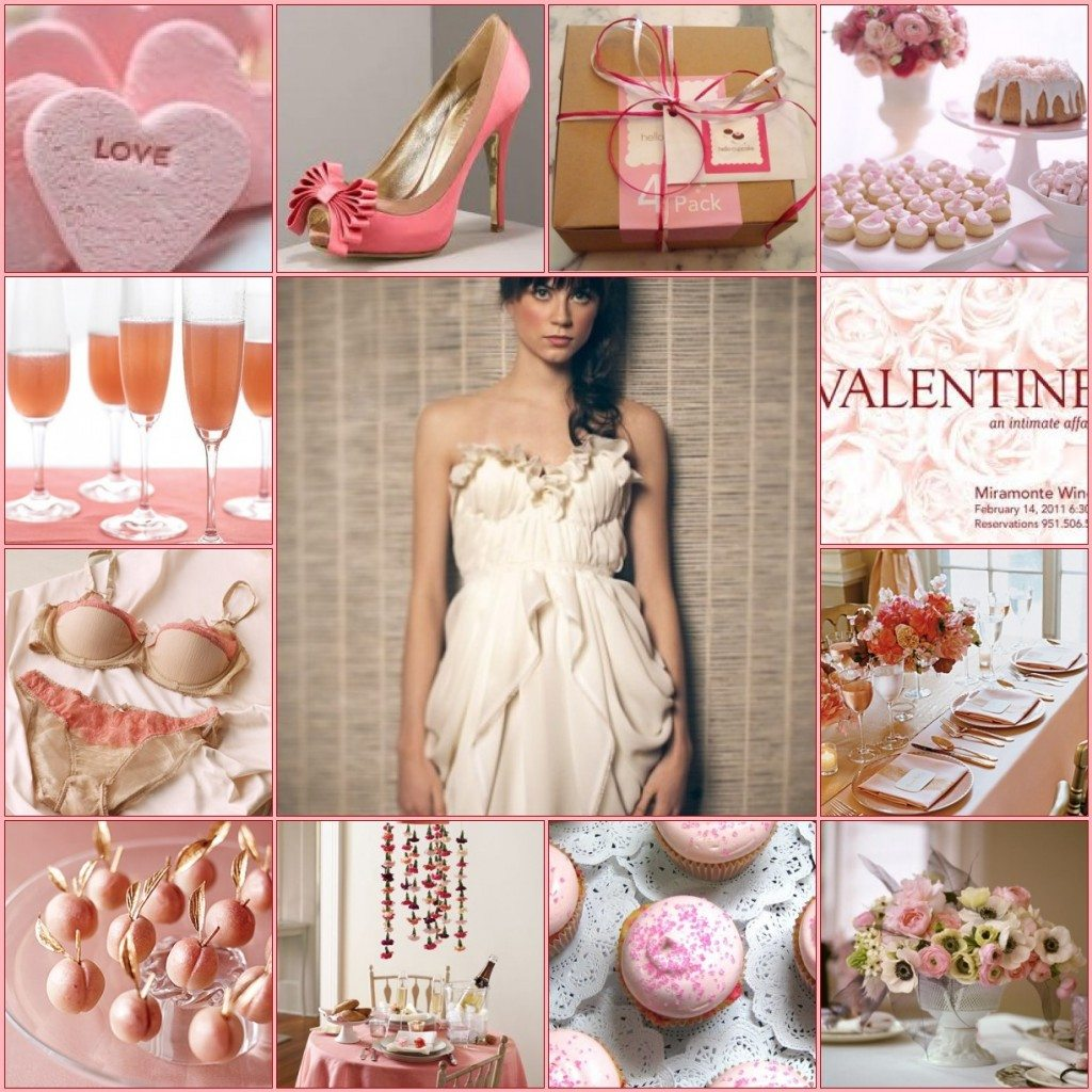 Romantic Valentine's Day Soiree Inspiration Board