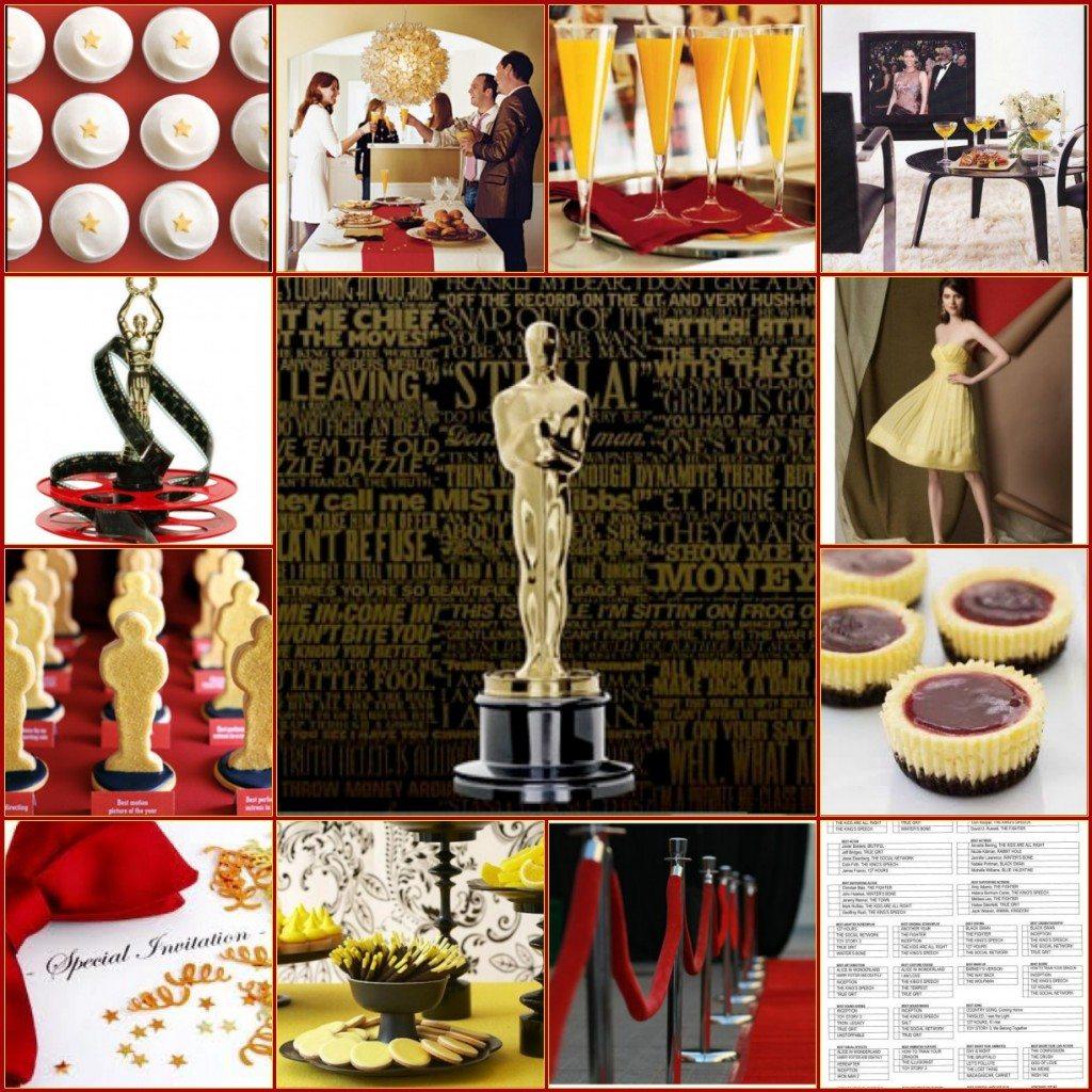 Oscar Party Inspiration Board