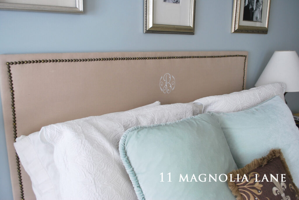 And Finally…A Headboard