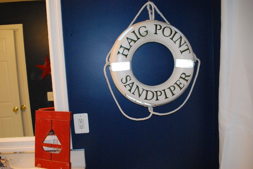 Boys red white blue nautical bathroom. Boys Bathroom with a Nautical Theme   11 Magnolia Lane