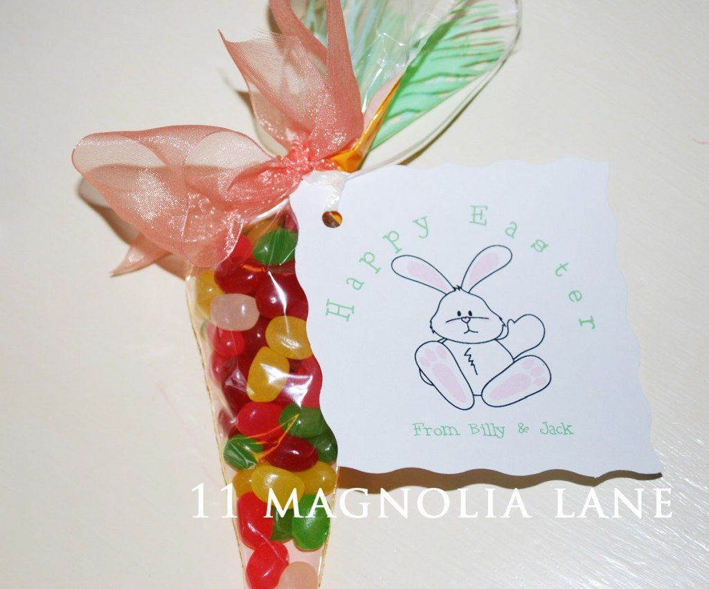 Easter Bunny Tag Printable