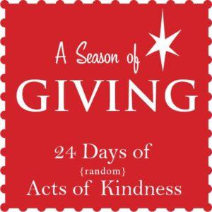 Season of Giving Button