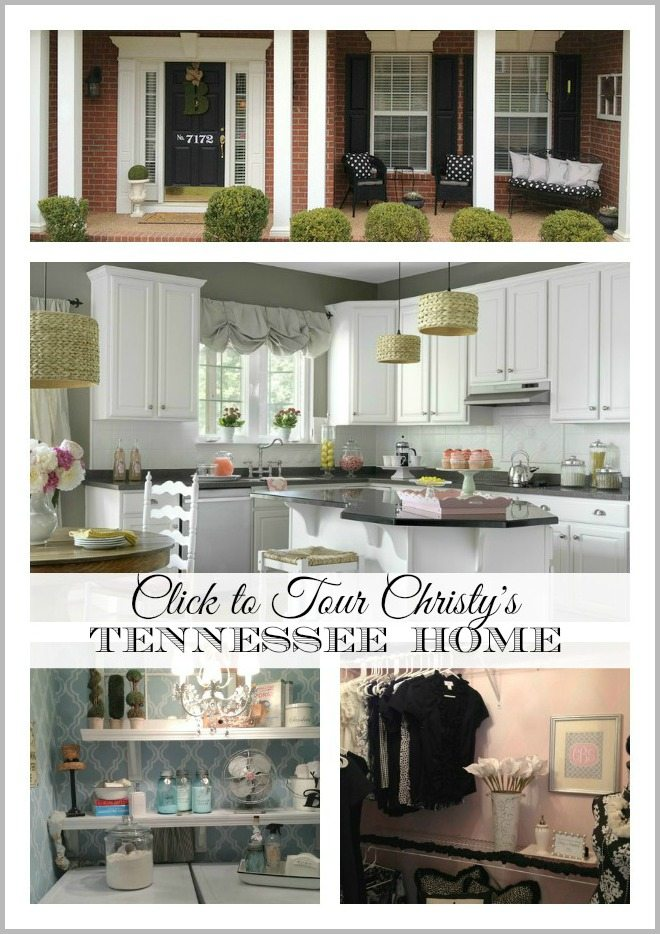christy Tenn House collage