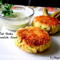 Lemon Fish Cakes with Remoulade