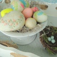 decoupage easter eggs 1