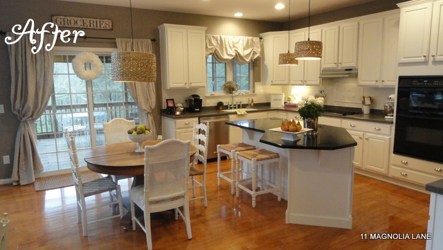 Christy 39 s kitchen redo at 11 magnolia lane featured in bh Redo my kitchen