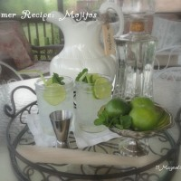 Must-Have Recipe for Easy Summer Entertaining:  Mojitos!