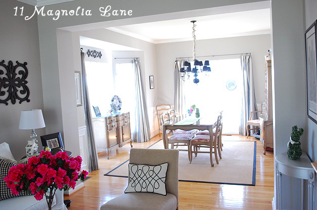 Home Decorated From Target And Homegoods 11 Magnolia Lane. Dining Room: ...