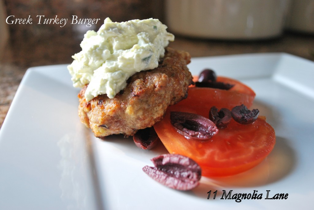 Greek Feta Burger Recipe — Dishmaps
