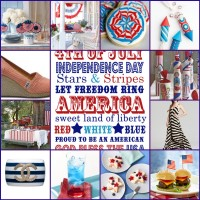 Stars and Stripes Inspiration Board- Happy July 4th!!