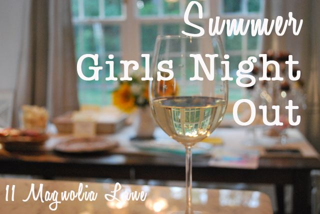 Summer Girls Night Out Party