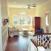 Christy's upstairs hall turned playroom