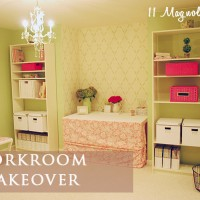 workroom makeover marked