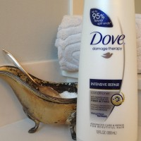 Dove Intensive Repair Conditioner:  TLC for Fried Summer Hair