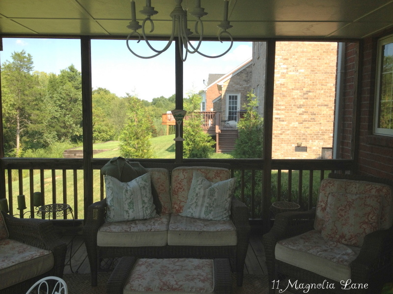 screened porch sheer curtains
