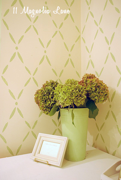 DIY wall stencil tutorial