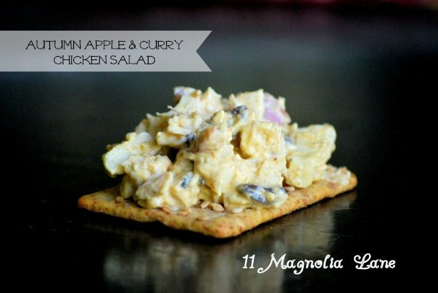 apple curry chicken salad