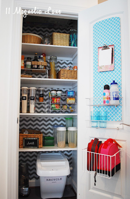 Organized closet pantry uses every inch of space | 11 Magnolia Lane