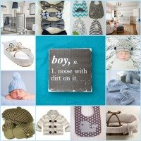 Baby boy inspiration board