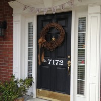 Decorating the Front Porch for Fall and Thanksgiving