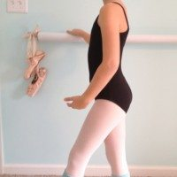 DIY Ballet Barre at 11 Magnolia Lane