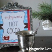 Holiday Hot Cocoa Station