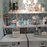 Small laundry room redo at 11 Magnolia Lane
