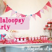 lalaloopsy party marked
