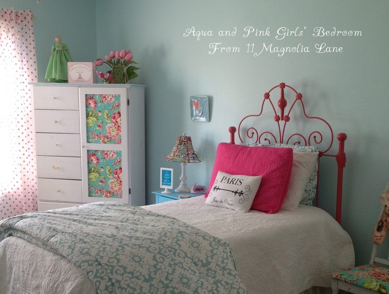 My Daughter 39 S Room Updated Yes Again In Aqua Blue