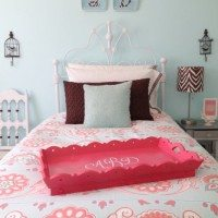 Tween Girl Bedroom at 11 Magnolia Lane