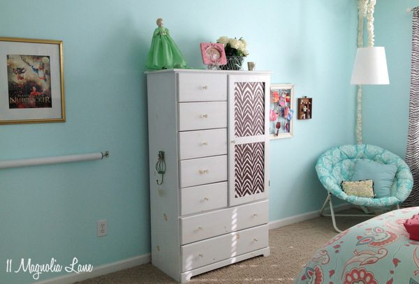 My Daughter's Room--Updated {Yes, Again!} in Aqua Blue, Brown, and
