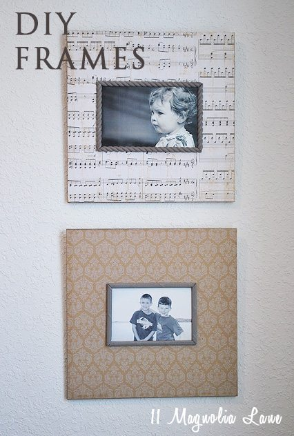 DIY Frames Marked