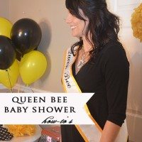 Terry's Baby Shower Details {The Invitations, Menus and More}