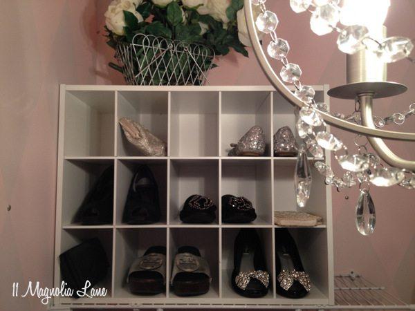 """""""Her"""" closet at 11 Magnolia Lane"""