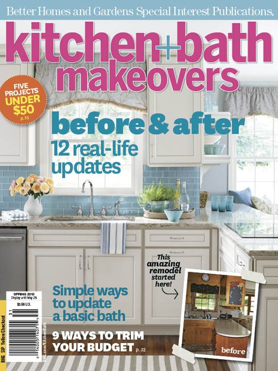 Bathroom Makeovers Better Homes And Gardens christy's kitchen redo at 11 magnolia lane featured in bh&g | 11