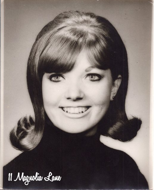 Mom's sorority photo in 1969