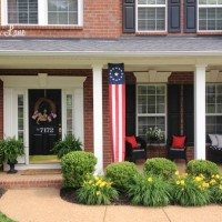 Memorial Day Front Porch