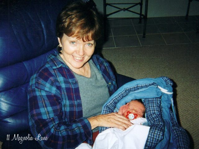 Mom & newborn Connor