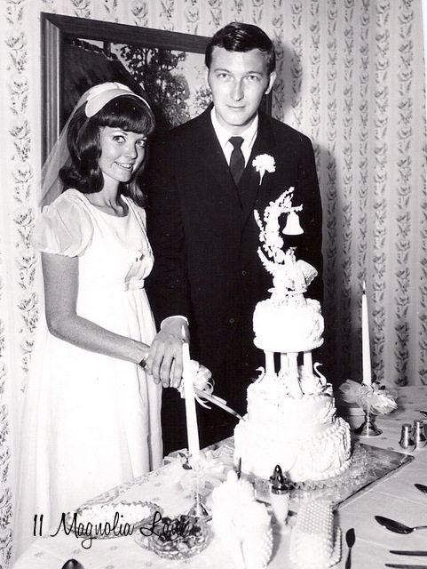 Marrying Dad in 1969
