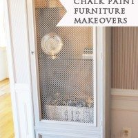 chalk paint makeovers marked