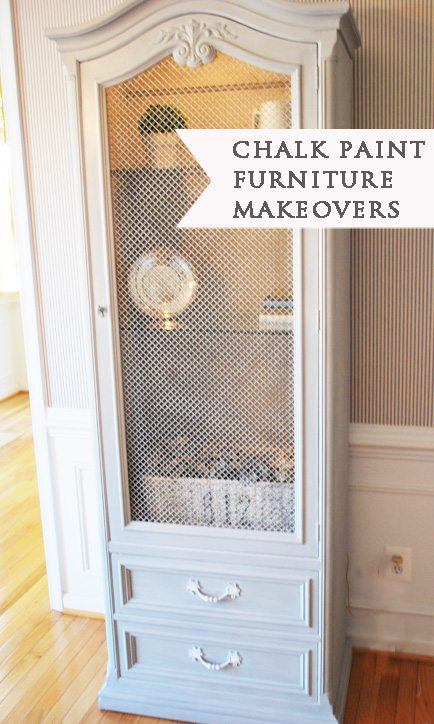Chalk Paint Furniture Makeovers & Tips