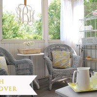 screen porch makeover marked