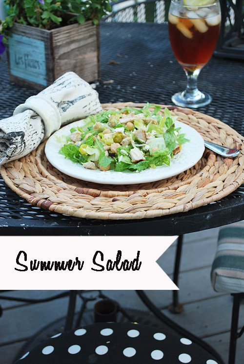 A Fresh Summer Salad