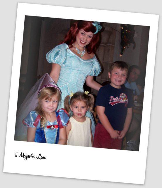 Ariel the Little Mermaid Disney World