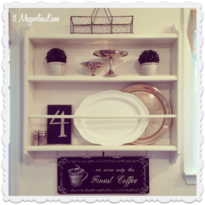 Stenstorp plate rack styled