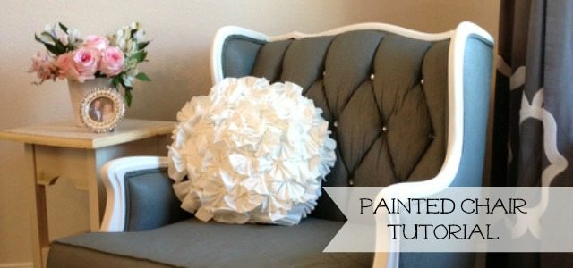 slide - painted chair tutorial